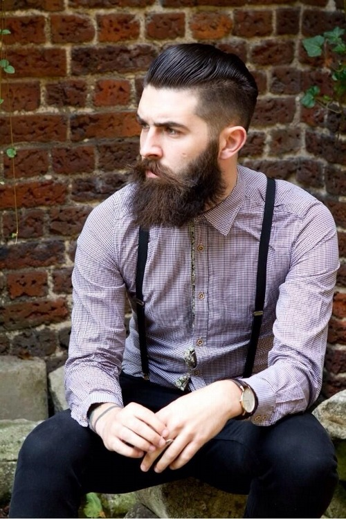 Barbe hipster photos - Coiffure homme barbe ...