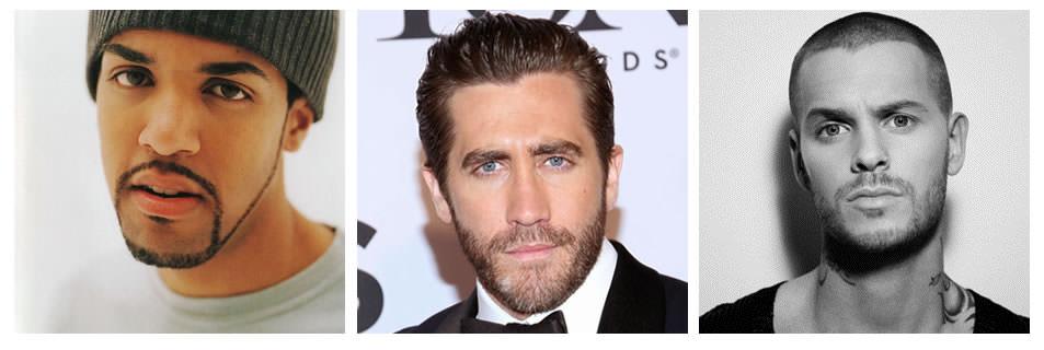 barbe visage ovale
