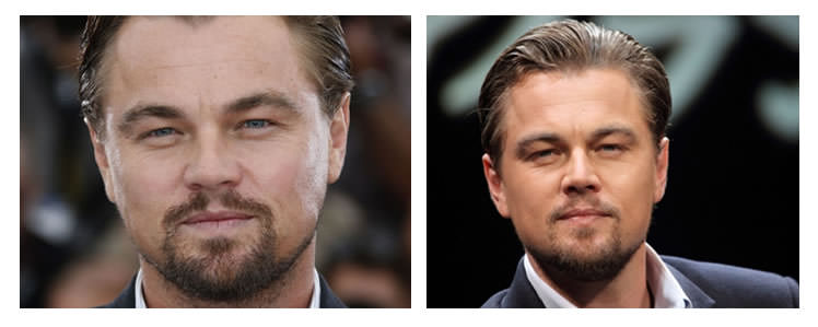 barbe visage rond