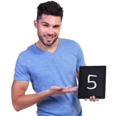 5 bonnes raisons barbe