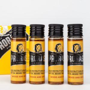 huile à barbe chaude traitement