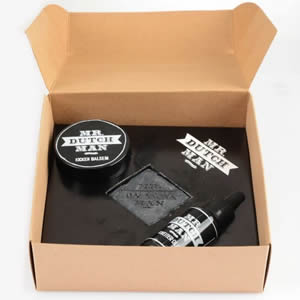 Black box soin barbe Mr Dtuchman cadeau